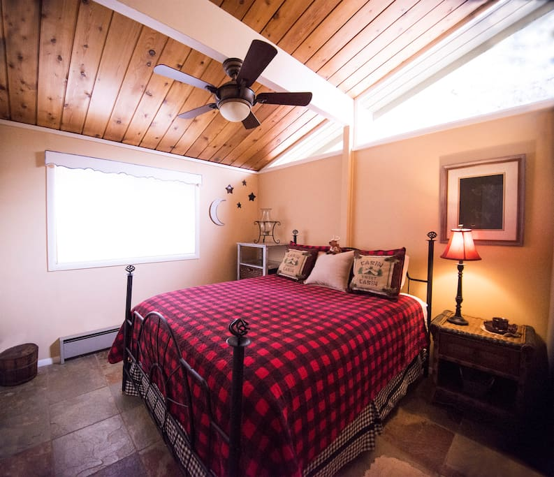 ! of  2 bedrooms with Queen Sealy Pillow topped bed.