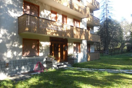 Cozy apartment in central Champoluc - Apartment