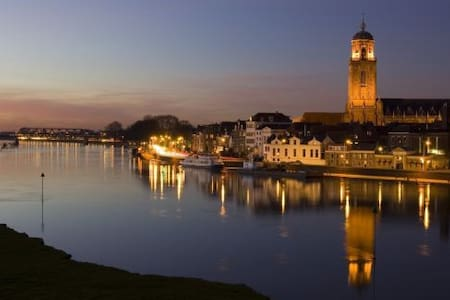 Rustige plek dichtbij de IJssel - Deventer - Ház