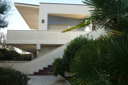 Appartamento in villa con piscina in riva al mare - Lido di Savio