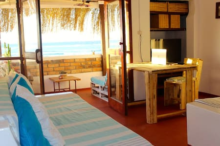 Boho Style Apartment - Right on the beach - Tofo Beach - Apartment