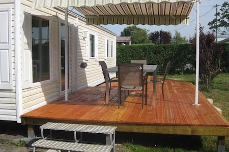 GRAND MOBIL HOME PROCHE PLAGE  - Other