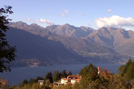 A  charming cottage above Como Lake - Bellano