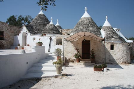 Trulli with pool in Puglia