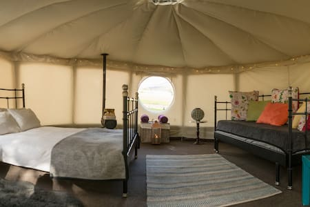 Yurt Hire in The Yorkshire Dales - Yurt