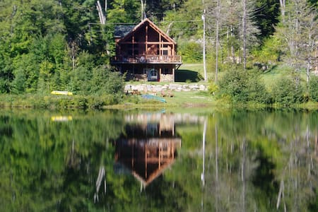 New Lakefront Log Home - Chalet