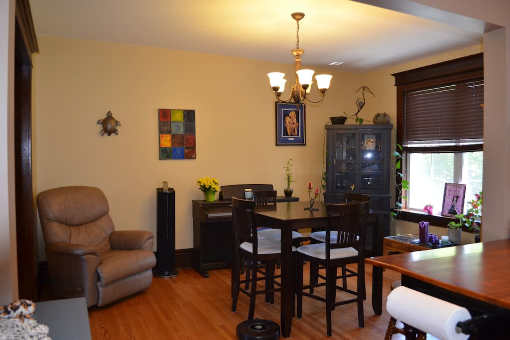 Dining Room beside kitchen