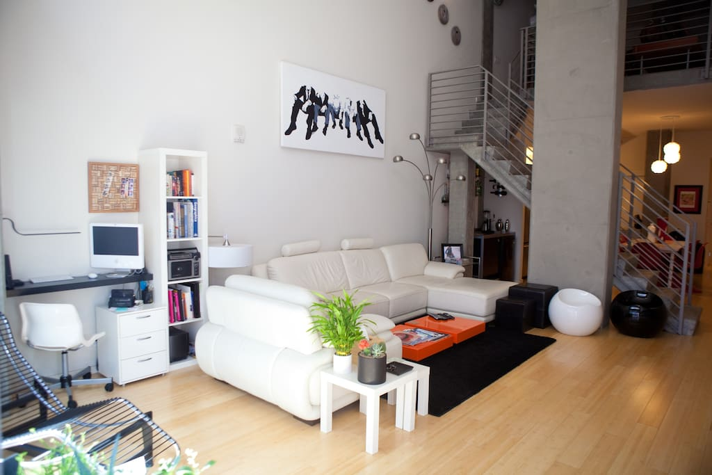 Upscale Designer Loft