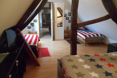 Chambre familiale avec salon - Bed & Breakfast