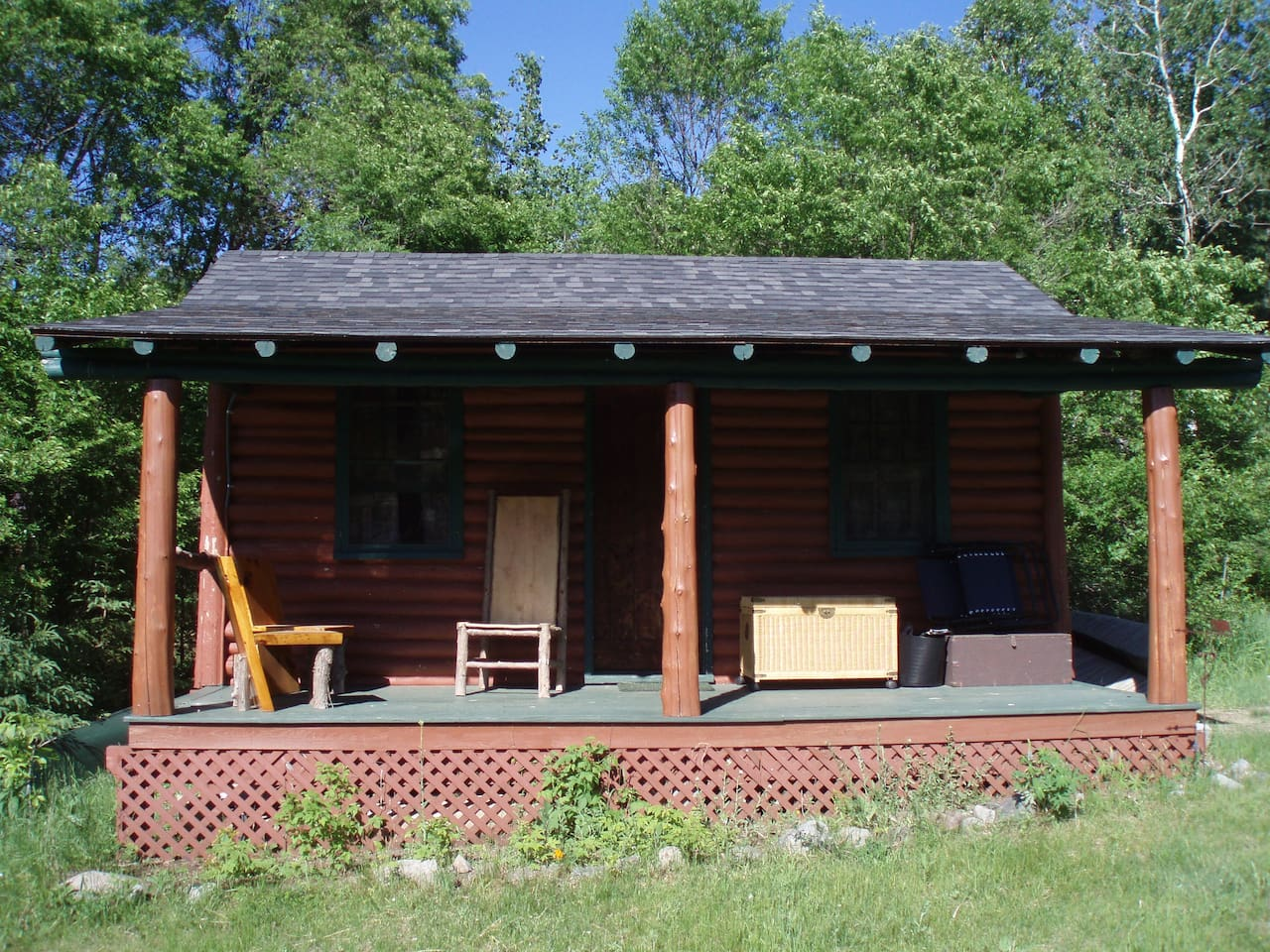 Authentic adirondack log cabin cabins for rent in wilmington for Wilmington ny cabin rentals