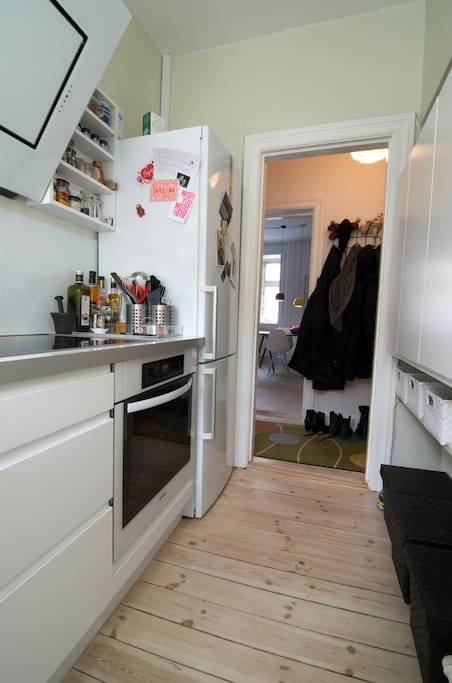 A kitchen with everything needed