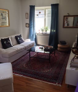 Three rooms in central Helsingborg