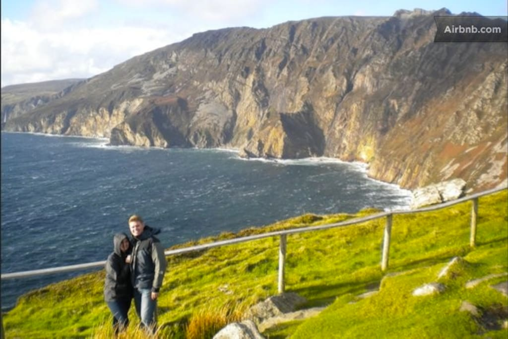 Slieve League, highest sea cliffs in Europe