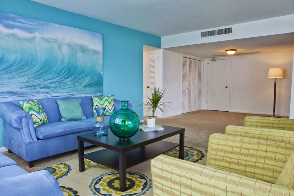 resort is located right on the ocean with direct beach access
