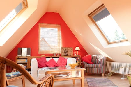Gemütlicher Dachboden im Sauerland - Hus