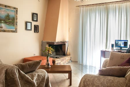 Cozy Flat in Ancient Olympia Area  - Apartament