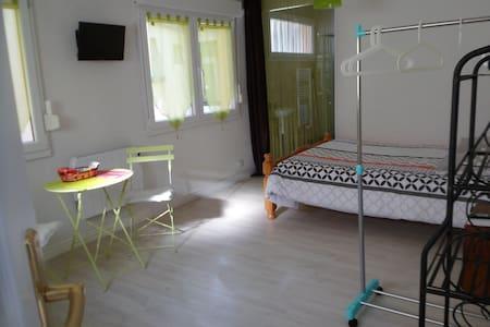 Studio Vert équipé  neuf 1-2 personnes N1 - Apartment