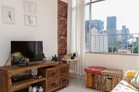 Bright and lovely apt in Lapa-Rio - Apartment