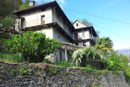 Ursprüngliches Tessinerhaus - Casa