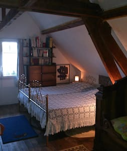 EXMES Chambre 1 en Normandie - Orne - Bed & Breakfast