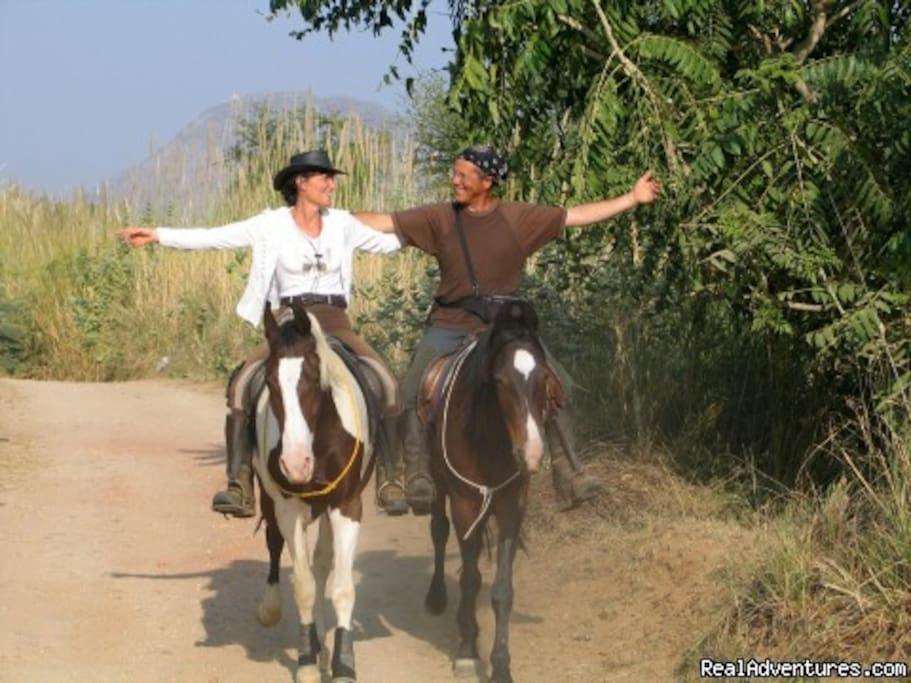 Horseback Safaris  in Rajasthan