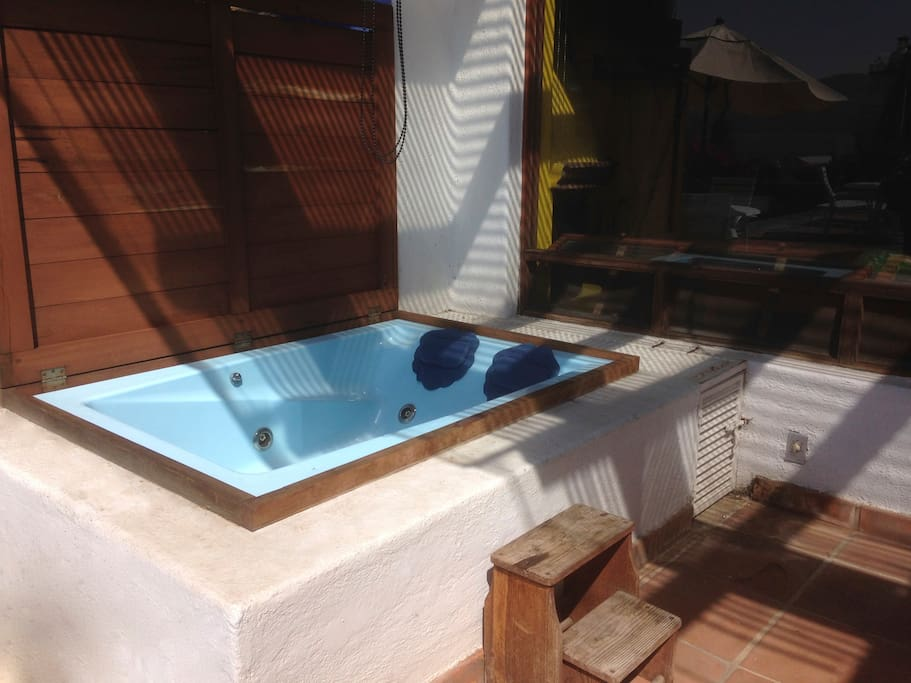 Jacuzzi covered