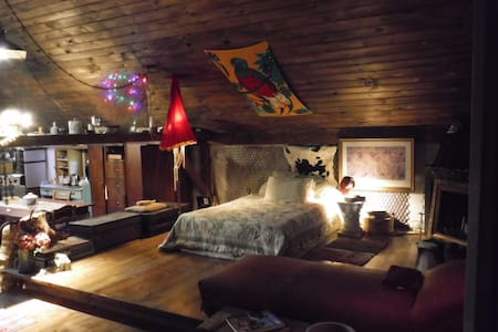Eco,Arts, Tiny House,Rustic elegance - Лофт