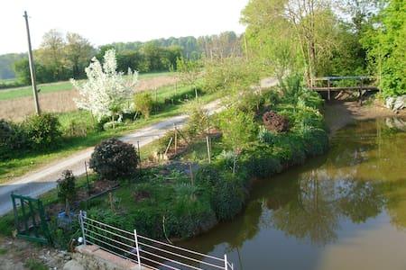longère de charme en campagne (proche du Mans) - Dům
