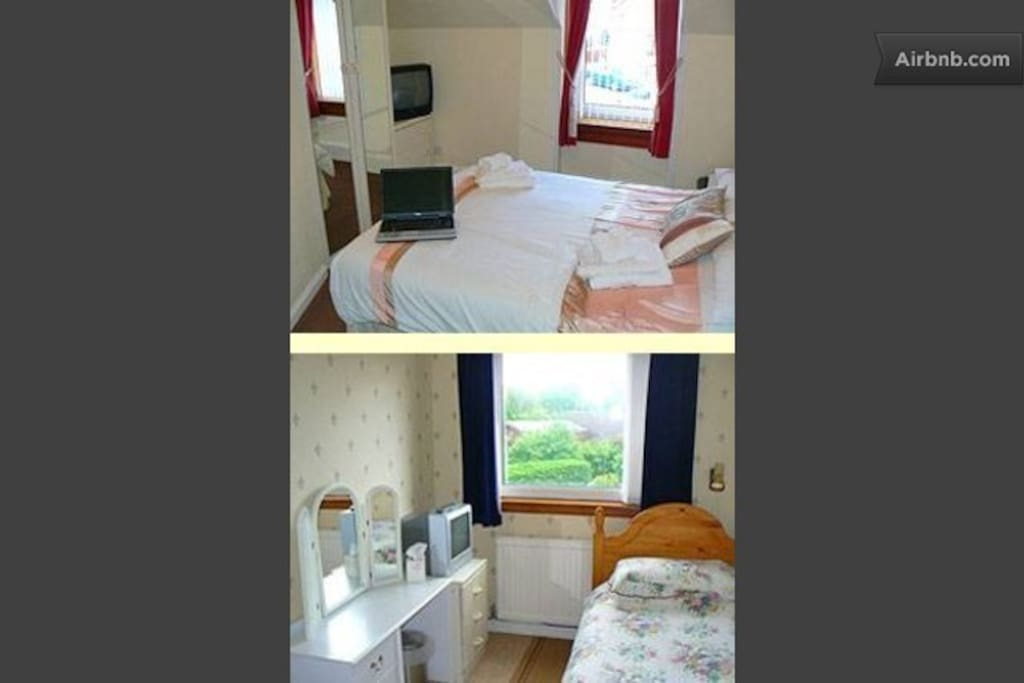 Twin room, Ardgarry Guest House