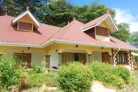 3-bedroom house on La Digue - House