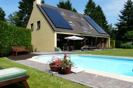 5 bedrooms home with private pool - Villers-la-Ville - Ház