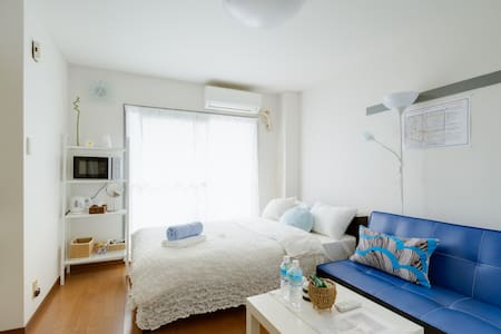◎Free WIFI◎2min from Imamiya staion - 大阪市 - Appartement