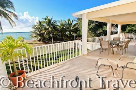 Beach Front House, Natural Oasis - Punta Santiago
