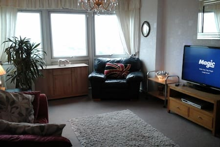 Spacious 1 bed appartment 15th floor - Manchester