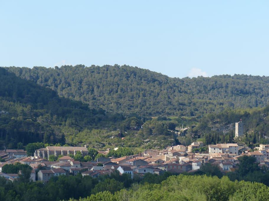 le village et sa tour
