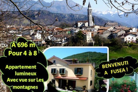 Détente à 4 ou + à 696m/Vue sur les montagnes ! - Tolmezzo - Haus