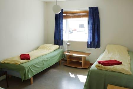 Bryggjukaffi Hostel / harbour rooms (room #3) - Dorm