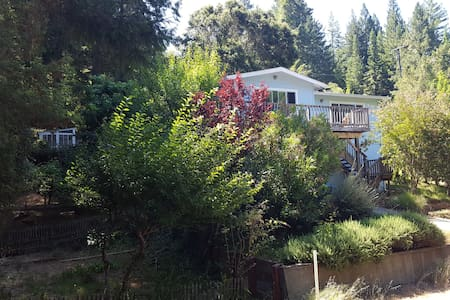 The Wright Cottage - Walk to Guerneville - Hot Tub - Guerneville - Daire