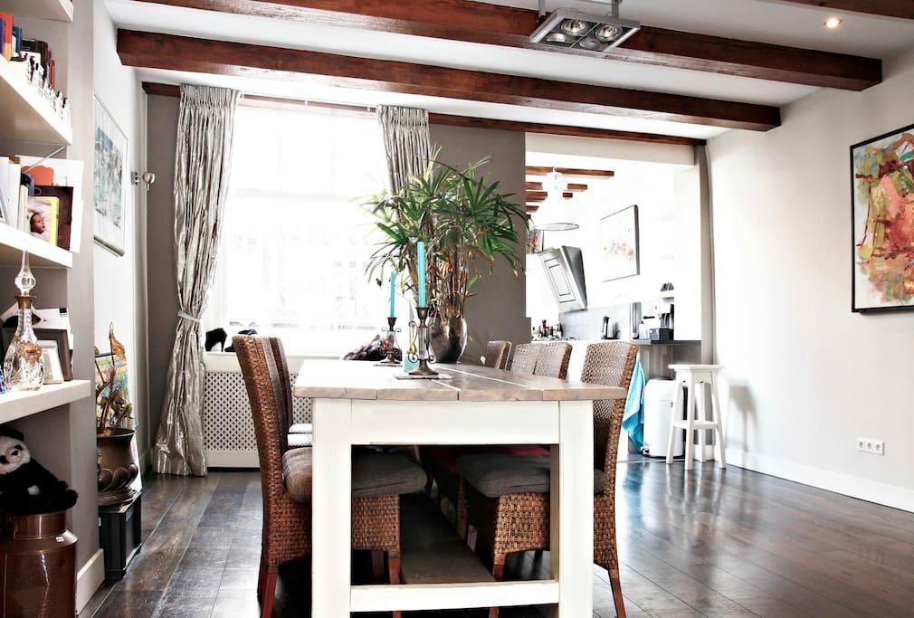 Unique apartment in Amsterdam, 90m2
