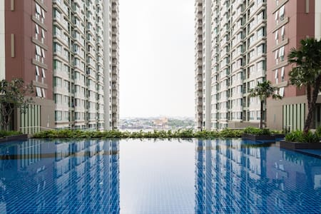 Chao Phraya River/Pool view 30m2 - Rama 3 Road - Huoneisto