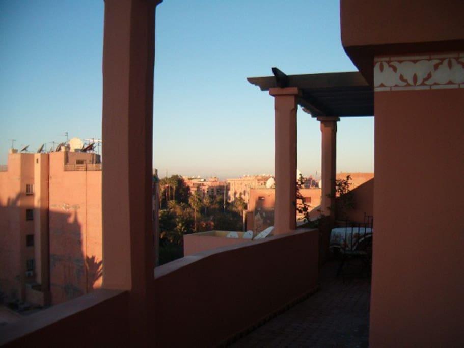 autre partie de la terrasse
