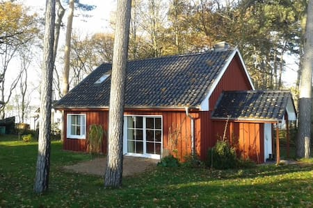Schwedenhaus am Plauer See - Casa