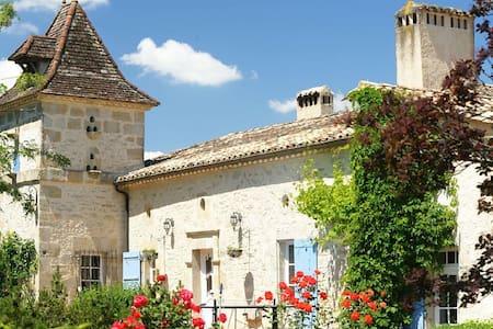 Propriété de charme, calme, piscine - Moulinet - Rumah