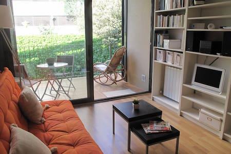 Apartamento con terraza y parquing. - Figueres - Apartament