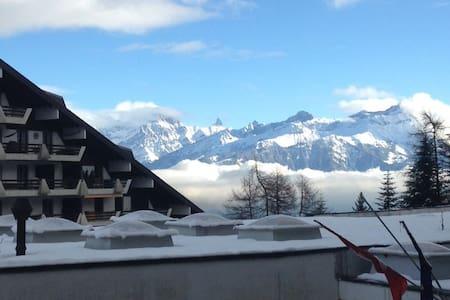 Alpine apartment in Swiss village of Torgon - Torgon