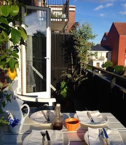 A nice apartment with balcony close to CPH - Charlottenlund