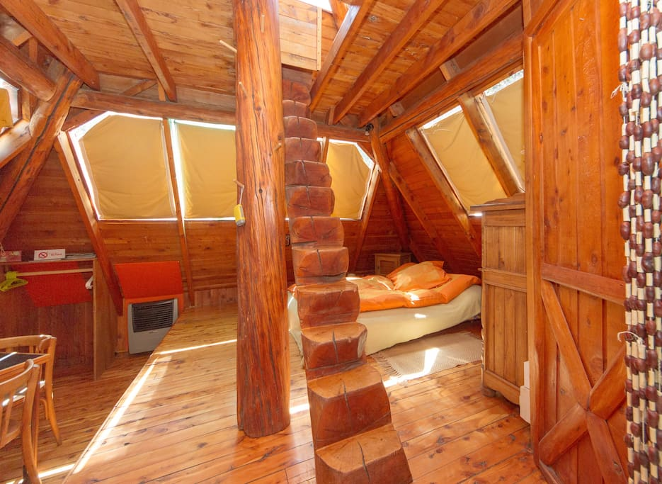 CABIN - PYRAMID BARILOCHE FOR 2/4 p