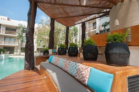 Luxury stay at Aldea Zama Condo