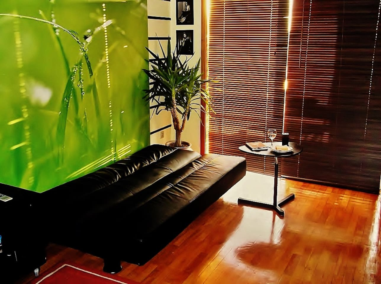 Sala e espaço de lazer
