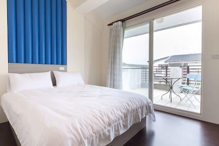 位於冬山河,河畔水漾民宿:4樓A觀景雅房 - 宜蘭 - Casa